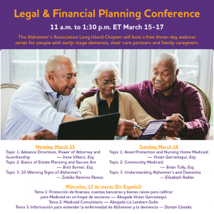 LinkedIn - March 15 2021 - Legal & Financial Planning Conference FB Event Cover